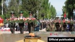 Празднование 9 мая в Бишкеке
