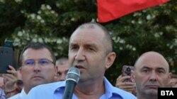 Архивска фотографија- Румен Радев, претседател на Бугарија