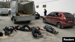 Trupat e vrarë të disa militantëve në Daghestan (Pamje nga Arkivi)