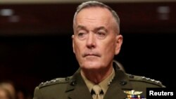 U.S. Chairman of the Joint Chiefs of Staff Joseph Dunford also plans to meet his counterpart, Russian General Valery Gerasimov, in Baku on February 16.