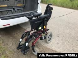Компактная коляска разработки Observer