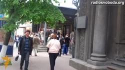 Під Будинком актора мітингували на захист будівлі