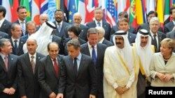 Участники международной конференции в Париже