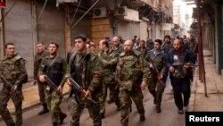 Suriya ordusu.