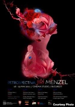 Afișul retrospectivei Menzel de la București
