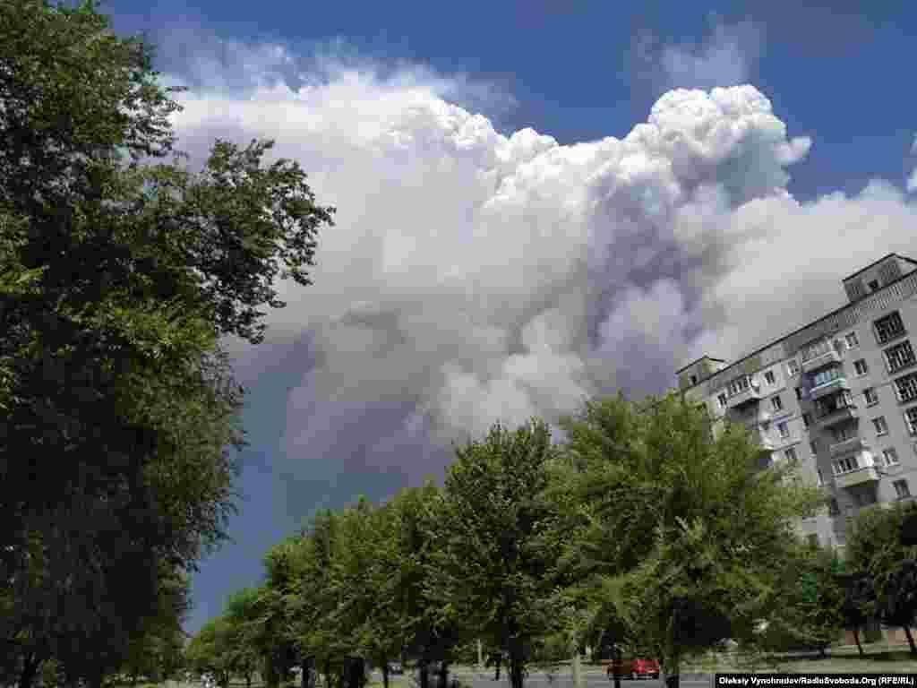 Житловий квартал Сєвєродонецька, 7 липня