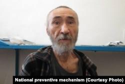 Арон Атабек в заключении, 18 августа 2021 года