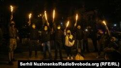 Акция под офисом Гордона в Киеве, 18 мая 2020 года