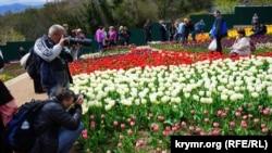 Тюльпаны в Никитском ботсаду