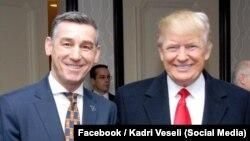 Kadri Veselji i Donald Tramp