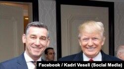 Kadri Veseli dhe presidenti Donald Trump
