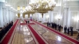 Putin Welcomes Uzbek Leader To Kremlin