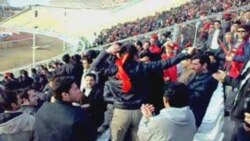 Təbrizin «Traktorsazi» futbol klubu azarkeşlərinin Azərbaycan rəqsi.