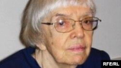 Голова Московської Гельсінської групи Людмила Алексеєва