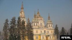 Вознесенский кафедральды соборы. Алматы, 6 қаңтар 2009 жыл.