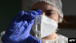 Антигенен тест са коронавирус