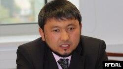 """""""Асыл арна"""" басшысы Мұхамеджан Тазабеков. Алматы, 13 қазан 2009 жыл."""