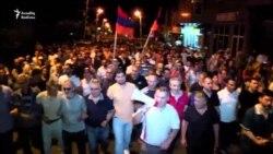 Yerevanda toqquşma: silahlı qrupun lideri yaralanıb