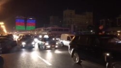 'Qarabağ'ın azarkeşləri Azadlıq meydanından yürüşlə keçir