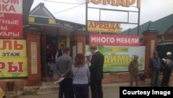 """""""Ачык Русия"""" намзәте Илья Новиков Кукмара базарында"""