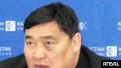 Рамазан Есіргепов, «Алма-Ата инфо» газетінің бас редакторы. Алматы, 24 желтоқсан 2008 ж.