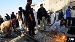 Після вибуху на залізниці у 2011 році
