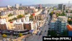 Pamje nga një pjesë e Prishtinës