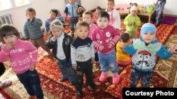 Детский сад в Базар-Коргонском районе Джалал-Абадской области. Иллюстративное фото.