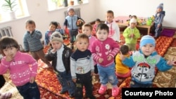 Қырғызстандағы балабақшадағы балалар. (Көрнекі сурет)