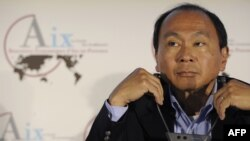 """Francis Fukuyama: """"Russia doesn't have an interest in having a healthy democracy on its borders because that's going to give the wrong signals to its own people."""""""