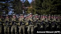 Pripadnici Kosovskih bezbednosnih snaga (BSK) Priština, 5 mart 2020.
