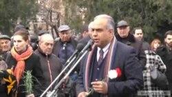 Րաֆֆի Հովհաննիսյանի մարտիմեկյան ասուլիսը Ազատության հրապարակում