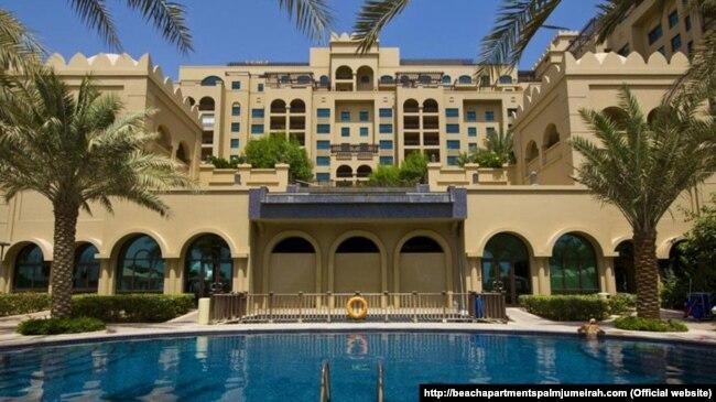Апартаменти в Дубаї, фото с сайту готельного комплексу