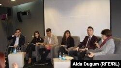 Samit mladih Zapadnog Balkana u Sarajevu, 15. oktobra 2015, foto: Aida Đugum