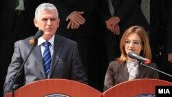 Бајрам Реџепи и Гордана Јанкулоска