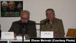 تقی رحمانی (راست)