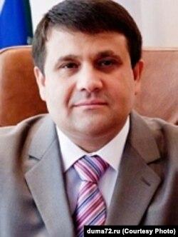Кандидат в губернаторы Тюменской области Владимир Пискайкин