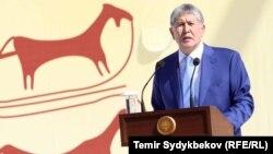 Ղրղըզստանի նախագահ Ալմազբեկ Աթամբաև, արխիվ
