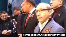 Геннадий Кернес (справа) и Михаил Добкин