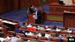 Архива - Расправа на Собранието за разрешување на Јавниот обвинител Марко Зврлевски.