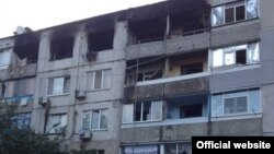 Місце вибуху в Павлограді (фото з сайту Нацполіції)