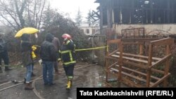 The fire in Baghdati killed six people.