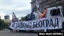 Protest 25. maj 2016, foto: Milan Nešić