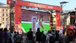 Euro-2012: Киев тамаша үзәгенә әйләнде