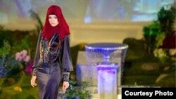 Чечня башлыгы хатыны Медна Кадыйрова Дубайда мөслимәләр киемен тәкъдим итте