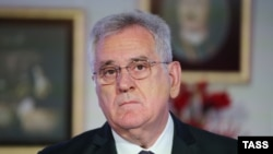 "Serbian President Tomislav Nikolic has complained that the European Union has set ""humiliating"" conditions for joining the bloc."