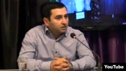 Azerbaijan - Bashir Suleymanli, co-founder of the Election Monitoring and Democracy Education Center, 2010