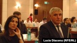 Eka Zguladze şi Alexei Roibu