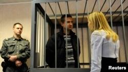 Судновий кок Руслан Якушев, громадянин України, на суді в Мурманську, фото 29 вересня 2013 року