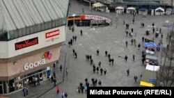 Ćirilica i latinica na ulicama Banja Luke